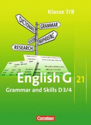 7./8. Schuljahr, Grammar and Skills