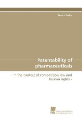 Patentability of pharmaceuticals