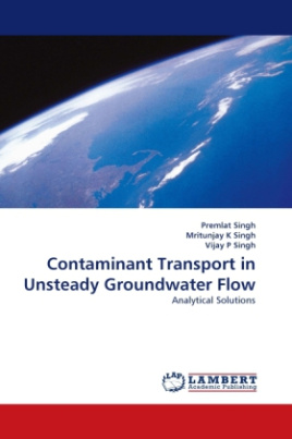 Contaminant Transport in Unsteady Groundwater Flow