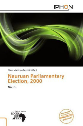 Nauruan Parliamentary Election, 2000