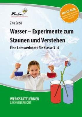 Wasser - Experimente zum Staunen und Verstehen, m. CD-ROM