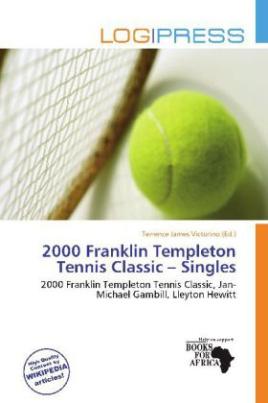 2000 Franklin Templeton Tennis Classic - Singles