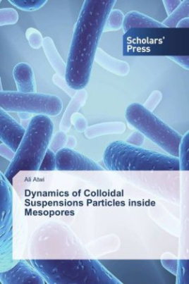 Dynamics of Colloidal Suspensions Particles inside Mesopores