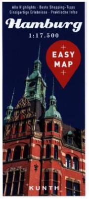 EASY MAP Deutschland/Europa Hamburg