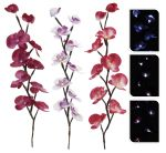 Deko Orchideen mit LED 65cm