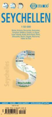 Borch Map Seychellen. Seychelles