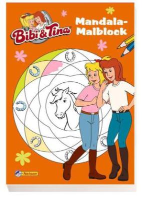 Bibi und Tina - Mandala-Malblock