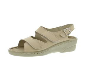 Sandalen aus Vollrindleder Größe 38