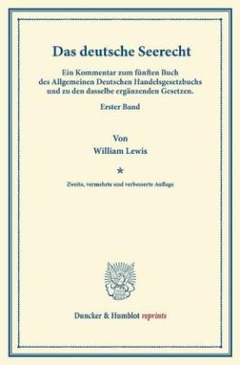 Das deutsche Seerecht.
