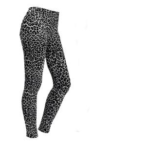 Leggings für Damen Leopardmuster Größe L