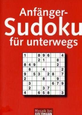 Anfänger-Sudoku für unterwegs