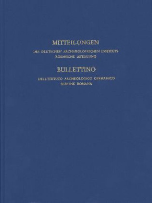 Mitteilungen des Deutschen Archäologischen Instituts, Römische Abteilung