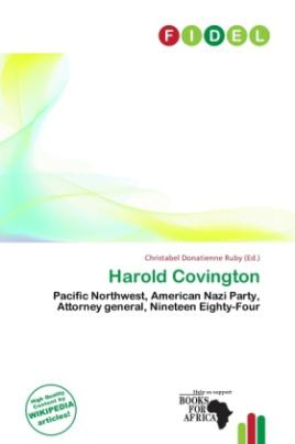 Harold Covington