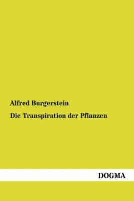 Die Transpiration der Pflanzen