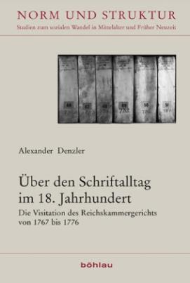 Über den Schriftalltag im 18. Jahrhundert