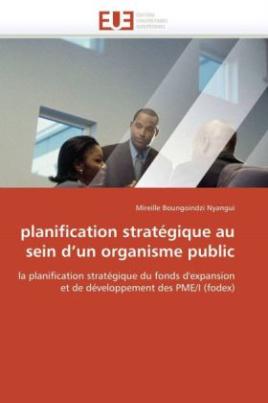 planification stratégique au sein d'un organisme public