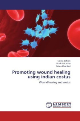 Promoting wound healing using indian costus