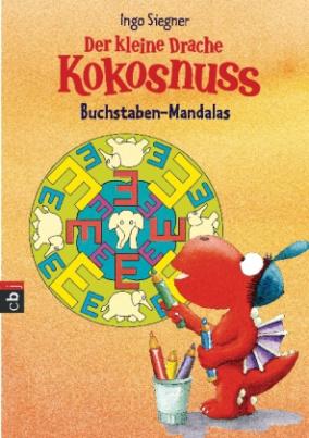 Der kleine Drache Kokosnuss - Buchstaben-Mandalas