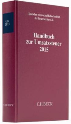 Handbuch zur Umsatzsteuer 2015