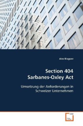 Section 404 Sarbanes-Oxley Act
