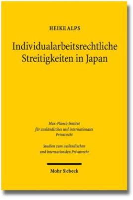 Individualarbeitsrechtliche Streitigkeiten in Japan