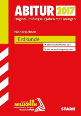 Abitur 2017 - Niedersachsen - Erdkunde