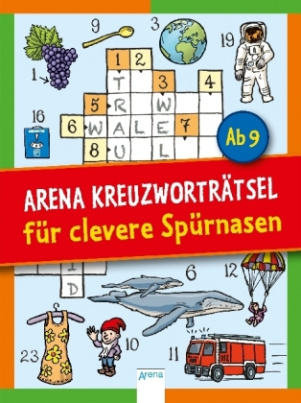 Arena Kreuzworträtsel für clevere Spürnasen