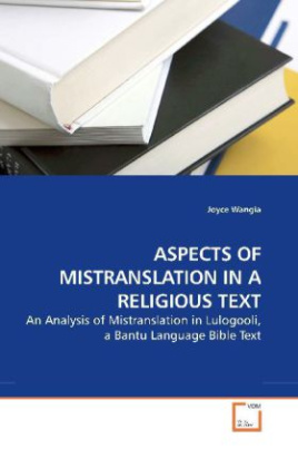 ASPECTS OF MISTRANSLATION IN A RELIGIOUS TEXT