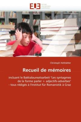 Recueil de mémoires