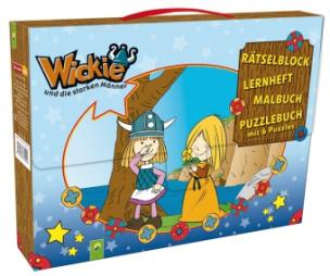 Wickie und die starken Männer, Kinderkoffer mit 4 Büchern