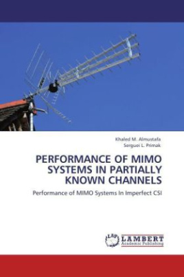 Performance of MIMO Systems in Partially Known Channels