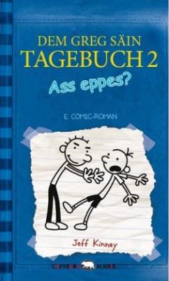 Dem Greg säin Tagebuch - Ass eppes?. Gregs Tagebuch - Gibt's Probleme?, luxemburgisch