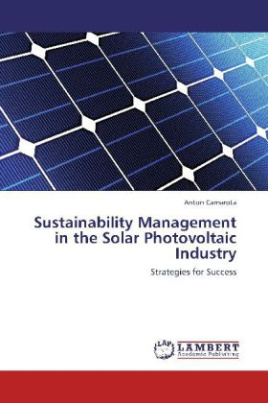 Sustainability Management in the Solar Photovoltaic Industry