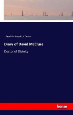 Diary of David McClure
