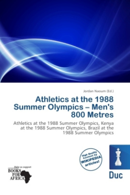 Athletics at the 1988 Summer Olympics - Men's 800 Metres