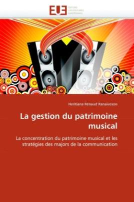 La gestion du patrimoine musical