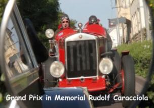 Grand Prix in Memorial Rudolf Caracciola (Posterbuch DIN A4 quer)