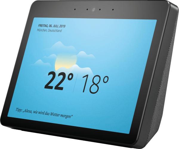 """AMAZON Smart Speaker """"Echo Show"""" (2. Generation, WiFi, Bluetooth, Sprachsteuerung, mit Display)"""