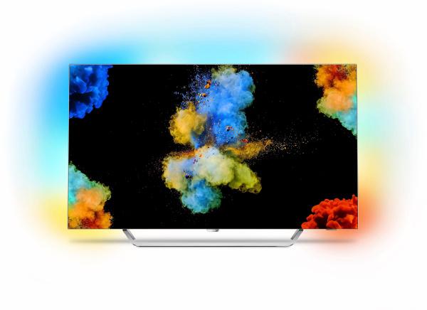 "PHILIPS Fernseher ""55POS9002/12"" (55 Zoll, 4k Ultra-HD, OLED, Smart-TV, Ambilight)"