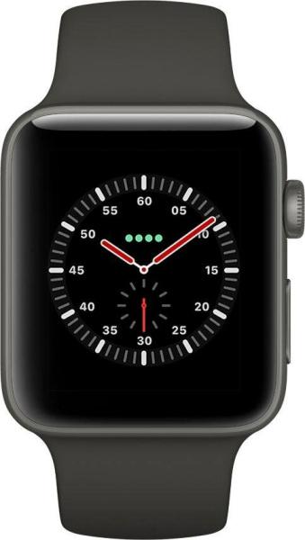 "APPLE Smart Watch ""Watch Edition Series 3"" (GPS + Cellular, 42 mm Keramikgehäuse, Grau)"