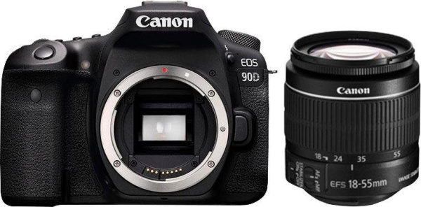 "CANON Spiegelreflexkamera ""EOS 90D"" (32,5 MP, 18-55mm, Wifi, Bluetooth)"