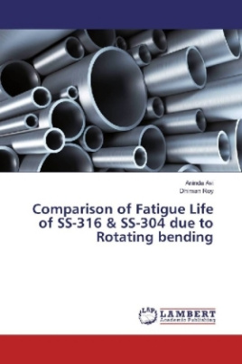 Comparison of Fatigue Life of SS-316 & SS-304 due to Rotating bending