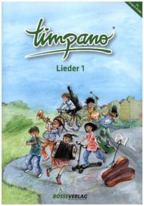 Timpano - Lieder, Singpartitur, m. Audio-CD. Tl.1