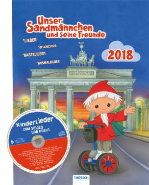Kinderkalender Unser Sandmännchen 2018 (inkl. CD)