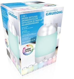Aroma-Luftbefeuchter mit Farbwechsel GRUNDIG
