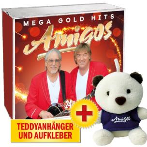 Amigos-Mega Gold Hits + Daniela Alfinito-Du warst jede Träne wert + Das Beste von Fantasy + LIMITIERTE Fanuhr
