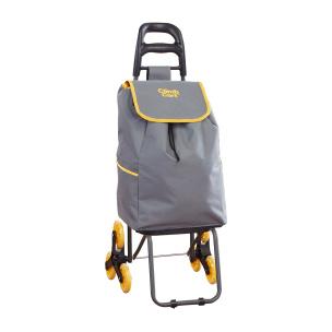 Einkaufstrolley Climb Cart grau/gelb