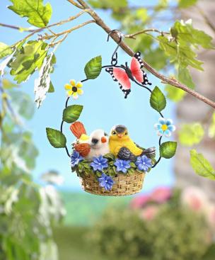 Bewegungsmelder Vögel im Nest