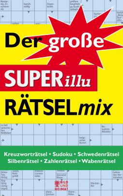 Der große SUPERillu-Rätselmix