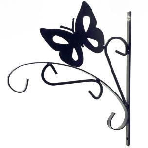 Haken für Blumentopf Schmetterling